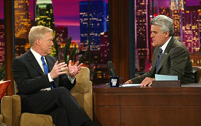 Dick Gephardt on Leno